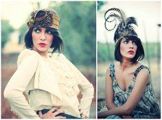 Tocados de temporada: Los más bonitos para invitadas 2011