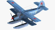 military floatplane transport 3ds