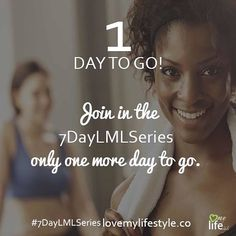 1 Day till it's on! Don't miss out join in at http://lovemylifestyle.co #7dayLMLSeries https://www.instagram.com/p/BNjqGMlj4Fm/ Join the challenge at http://lovemylifestyle.co/challenge