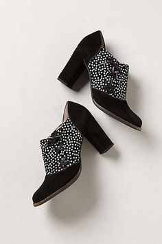 Anthropologie - Side-Tied Booties