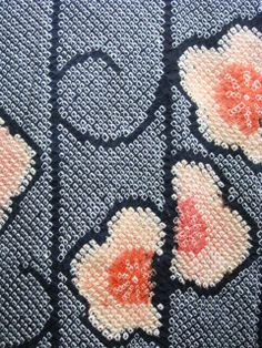Mume, fleur de prunier, shibori contemporain Japon