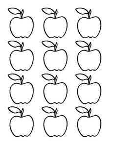 tree template for bulletin board Apple Bulletin Boards, Bulletin Board Tree, Elementary Bulletin Boards, Preschool Bulletin Boards, Fall Preschool, Preschool Crafts, Apple Template, Flashcards For Kids, Apple Unit