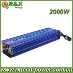 Hot Sell, 2000W Solar Power Inverter, DC12V or DC24V or DC48V-AC220V Pure Sine Wave Inverter