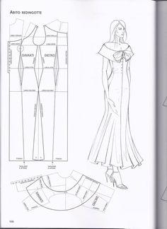 diy pattern making top - PIPicStats Pattern Cutting, Pattern Making, Dress Sewing Patterns, Clothing Patterns, Fashion Sewing, Diy Fashion, Sewing Clothes, Diy Clothes, Collar Pattern