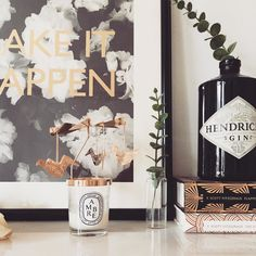 This Diptyque candle carousel is so pretty! It spins as the candle burns