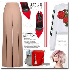 A fashion look from February 2017 by emapolyvore featuring Off-White, Cushnie Et Ochs, Casadei and J.Crew