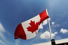 Canadian flag.  Formula One World Championship, Canadian Grand Prix, Preparations, Montreal, Canada, Thursday, 7 June 2012