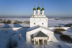 Богоявленский монастырь в Мстёре Zonara, GNU 1.2