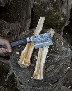 Bridgetown Forge x Hand-Eye Supply Hand-Forged Nata Hatchet. $245