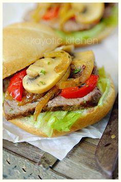 Old-School Steak Sandwich « Kayotic Kitchen