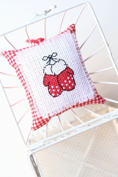 Christmas Cross Stitch Embroidery Needlework by VeryCuteThings, $14.75