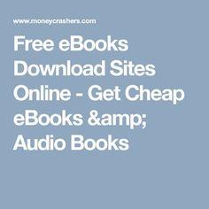 Free eBooks Download Sites Online - Get Cheap eBooks & Audio Books