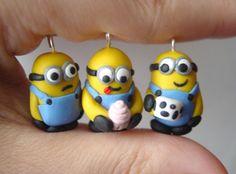 Customizable Despicable Me Minion Charm Necklace or Phonecharm. $12.00, via Etsy.