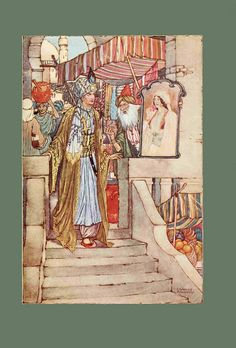 Ottoman Tales  Charles Folkard. He served in The Artists Rifles in WWI.