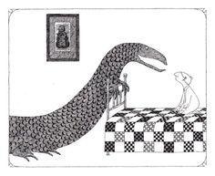 Edward Gorey's Donald Illustrations – Brain Pickings