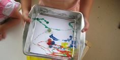 12 simple  ideas to keep the kids busy on a snowy/rainy day