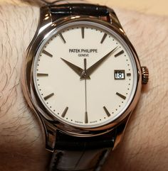 """When I hear the name """"Calatrava"""" I think of Patek Philippe, and when I think about Patek Philippe I think about tradition. Tradition in the sense of a watch means a lot of things. It usually implies timeless design, and often a retention of values that your father or grandfather would have probably recognized."""
