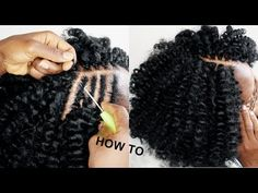 Hi guys, this is a very easy Crochet braids hairstyle on short natural hair. Learn How to easy crochet braids hairstyle on short natural hair. Crochet Braids Marley Hair, Curly Crochet Hair Styles, Crotchet Braids, Crochet Braid Styles, Curly Hair Styles, Natural Hair Styles, Cool Braid Hairstyles, Crochet Braids Hairstyles, Twist Hairstyles
