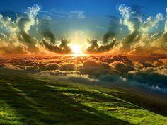 """The heavens proclaim the glory of God."""