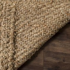 Product Details This casual area rug is made using innately soft and durable natural fiber yarns, with subtle, organic patterns created by a dense sisal weave. Room decor takes on a warm, homey aspect with the distinctive look and comforting feel of this natural fiber floor covering. Construction: Hand Woven Fiber Content: Natural Fiber Style: Traditional