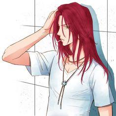 My Favourites Anime, Redhead men, Suoh mikoto anime guy with red hair - Red Hair Anime Guy Long Hair, Anime Girl Hot, Cute Anime Guys, Anime Boys, Redhead Men, Anime Redhead, Missing Kings, Red Head Boy, Suoh Mikoto