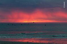 CapeTown Kapstadt, Meer, Sonnenuntergang