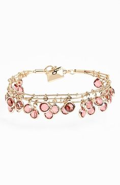 Anne Klein Multistrand Bracelet available at #Nordstrom