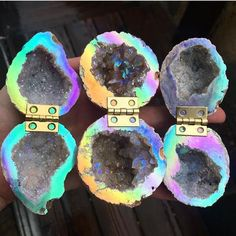 Ideas Wedding Rings Box Geode For 2019 Wedding Ring Box, Dream Wedding, Crystals And Gemstones, Stones And Crystals, Geode Jewelry, Moonstone Jewelry, Jewellery, Earth Spirit, Agate Geode
