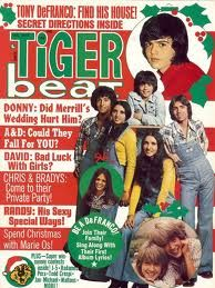 Tiger Beat with Donny!  December, 1972