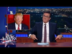 "Stephen Colbert may have offered the definitive takedown Monday night of Donald Trump's effort to rewrite history on the whole birther saga. In a more than 10-minute segment, Colbert repeatedly called Trump a liar without directly saying so, using clips of Trump himself saying ""liar"" and ""world-class liar"" and talking in exasperated tones about Trump's bogus birtherism claims in a Friday news conference. (Click on READ IT for full article and video.)"