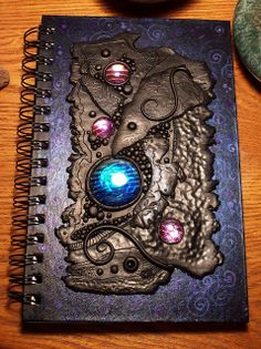 Cosmic Candy Journal inside by MandarinMoon, via Flickr