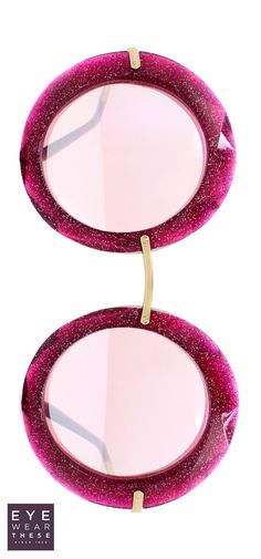 Make a statement in the oversize 6105 Dolce & Gabbana glitter sunglasses! #dolce #dolcegabbana #sunglasses #glitter