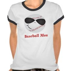 Shop Baseball Mom Shirt created by Personalize it with photos & text or purchase as is! Soccer Mom Shirt, Baseball Mom Shirts, Basketball Mom, Softball, Baseball Stuff, Marathon Clothes, Soccer Birthday, Shirt Style