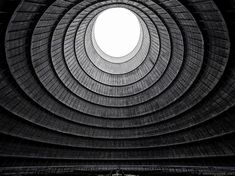 Community Post: ~30 Most Beautiful Abandoned Places In The World~Cooling tower of an abandoned power plant