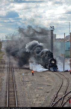 RailPictures.Net Photo: MILW 261 Milwaukee Road Steam 4-8-4 at Minneapolis, Minnesota by Patrick Phelan