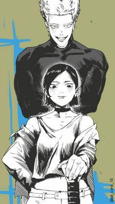 One Punch Man - Zenko and Garou