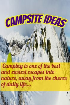 So many absolutely genius camping ideas all in one place! Stuff like fun things to bring camping and camping organization ideas galore! -- Check this useful article by going to the link at the image. Camping Guide, Go Camping, Camping Ideas, Camping World, Family Camping, Bodega Bay Camping, Camping Organization, Organization Ideas, Yellowstone Camping