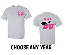 e510c65eb Class Of 2017 Shirt, 2017 Personalized Class T-Shirt, Graduate Shirt,  Graduation