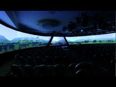 EVOLUTION - Cylindrical Panoramic Projection Need this at the house, for sure! lol