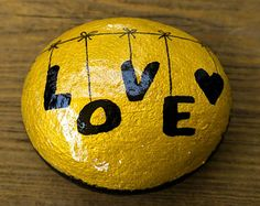 Painted Rock - Love