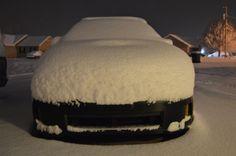 snow covered WRX Wrx, Beast, Ottoman, Snow, Blue, Furniture, Home Decor, Homemade Home Decor, Home Furnishings