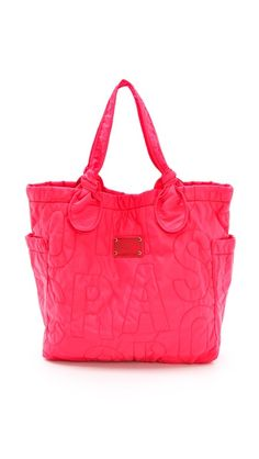 Marc by Marc Jacobs Pretty Nylon Medium Tate Tote. Click for more info or to buy.