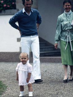Image du Blog royauxsuedois.centerblog.net. King Carl XVl Gustav, Queen Silvia, Princess Victoria