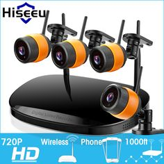 2017 Latest 2/4CH 720P HD Wireless CCTV System WIFI NVR IP Camera wi-fi Bullet CCTV Camera Security Video Surveillance Kits