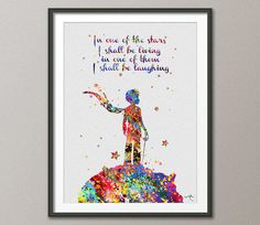 The Little Prince Le Petit Prince inspiration by CocoMilla on Etsy