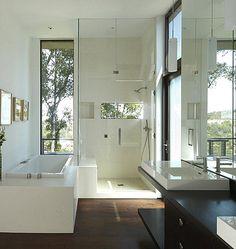 moderne duschkabine mit glast ren ebenerdig badideen pinterest duschkabine glast ren und. Black Bedroom Furniture Sets. Home Design Ideas