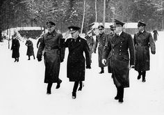 Foreign Affairs German_Romanian Meeting Adolf Hitler and Head of StaeIon Antonescu at Fuehrer's Headquarters 'Wolfsschanze' left Dr Paul Otto Schmidt. Otto Schmidt, Rare Photos, World War Ii, Ww2, Romania, Germany, Army, People, World War
