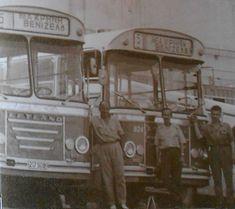 leo2 παλιά λεωφορεία του ΟΑΣΘ με τους οδηγούς τους Thessaloniki, Greece, Vehicles, Memories, Photos, Greece Country, Memoirs, Souvenirs, Pictures