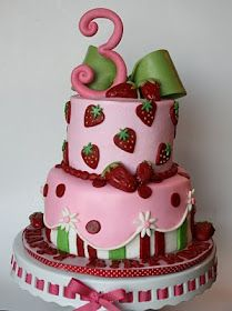 And Everything Sweet: Strawberry Shortcake Cake and Party Ideas
