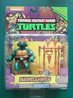 Teenage Mutant Ninja Turtles Figures Michelangelo 1988 Classic Collection - 2016
